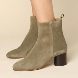 Isabel Marant Deyissa boot- tan/khaki suede